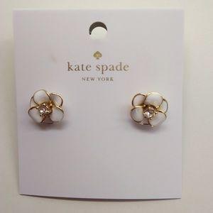 """Kate Spade New """"Shine On"""" White Flower"""